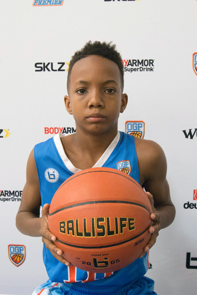 Dominique Newsom at Ballislife Jr. All-American Camp 2015
