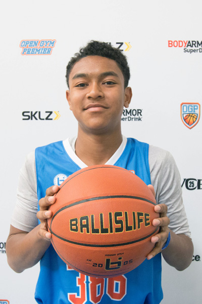 Learic Spellman at Ballislife Jr. All-American Camp 2015