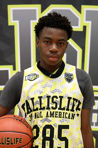 Donjae Lindsey at Ballislife Jr. All-American Camp 2016