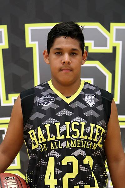 Antonio Belardes at Ballislife Jr. All-American Camp 2016