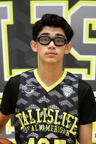 Adrian Galindo at Ballislife Jr. All-American Camp 2016