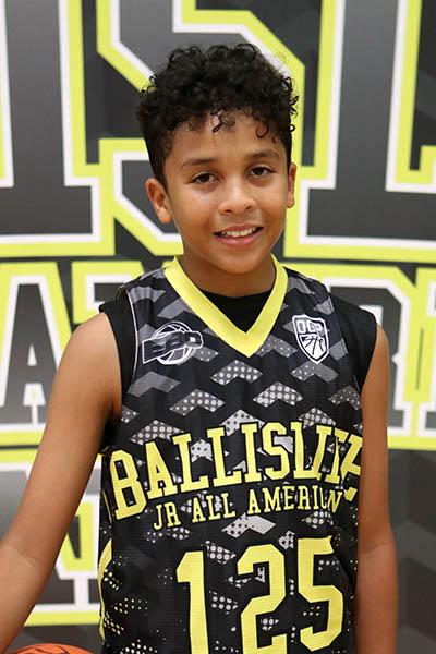 Kristian Gonzalez at Ballislife Jr. All-American Camp 2016