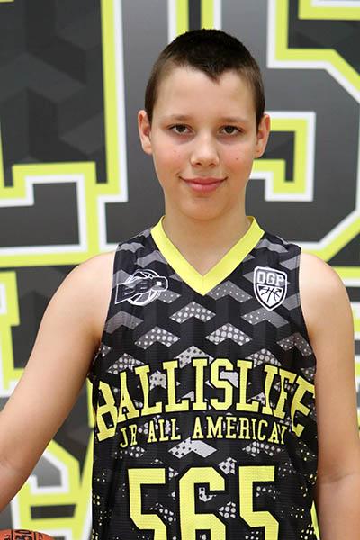 Thomas Armbruster at Ballislife Jr. All-American Camp 2016