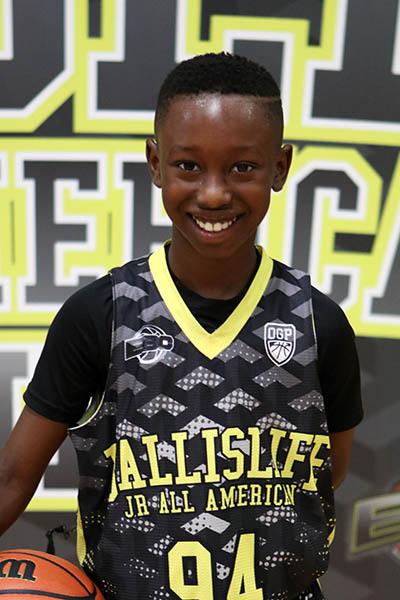 Shaine Johnson at Ballislife Jr. All-American Camp 2016