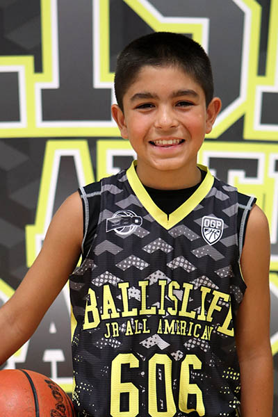 Zachary Chauhan at Ballislife Jr. All-American Camp 2016