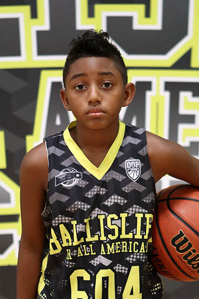 Antonio Burns at Ballislife Jr. All-American Camp 2016