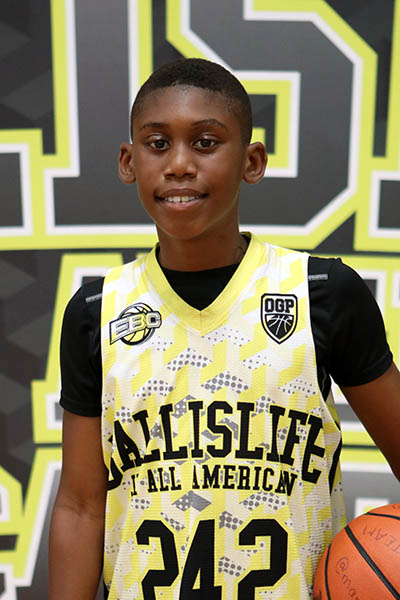 Tyrone Riley at Ballislife Jr. All-American Camp 2016