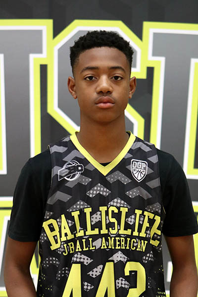 Za-Ontay Boothman at Ballislife Jr. All-American Camp 2016