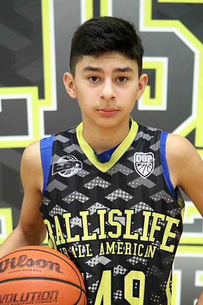 Abraham Rangel at Ballislife Jr. All-American Camp 2016