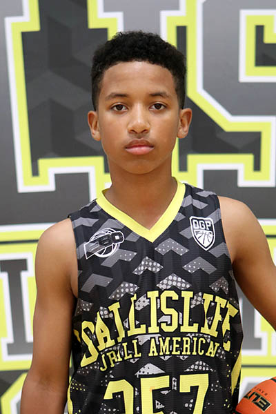 Evan Strong at Ballislife Jr. All-American Camp 2016