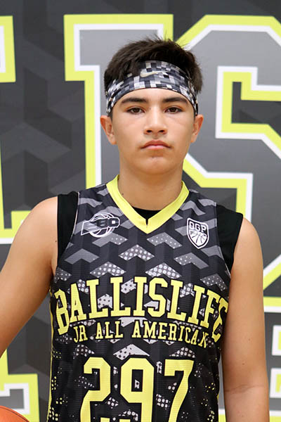 Aden Casarez at Ballislife Jr. All-American Camp 2016