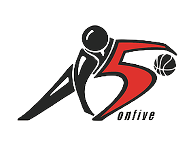 Organization logo for 5onfive Basketball