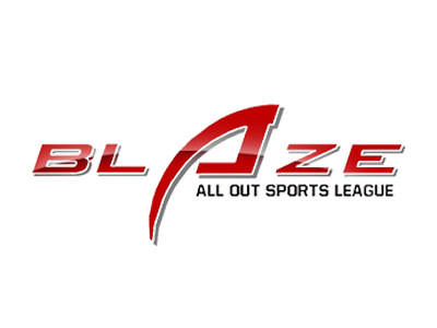 All Out Sports League (Blaze) official logo