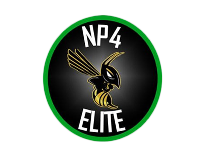The official logo of Norman Powell Elite