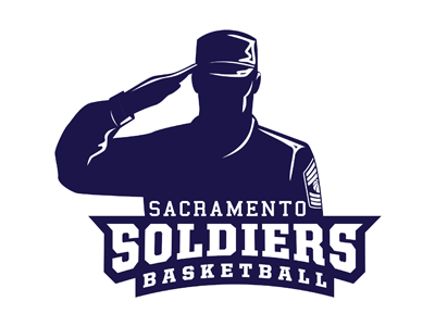 The official logo of Sacramento Soldiers