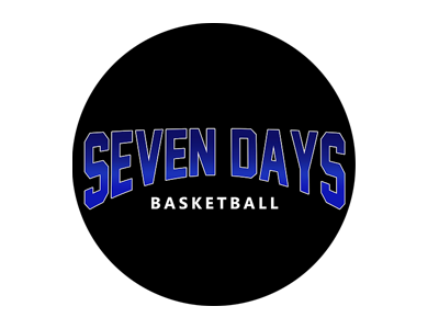 Organization logo for Seven Days Basketball
