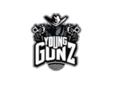 The official logo of Young Gunz Basketball