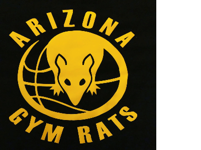 The official logo of Arizona Gym Rats