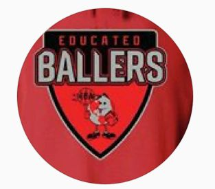 Organization logo for Educated Ballers