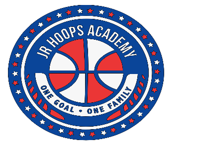 The official logo of Jr Hoops Academy